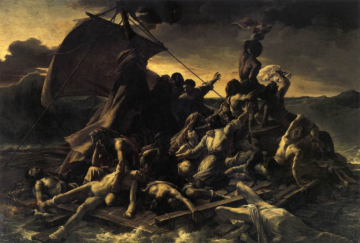 Starvation cannibalism and madness the raft of the medusa